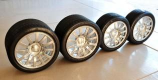 Комплект нови джанти и гуми за Bugatti Veyron струва 86 000$!